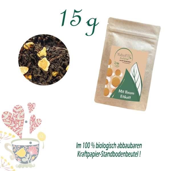 Schwarzer Tee Sizilianischer Sommertee