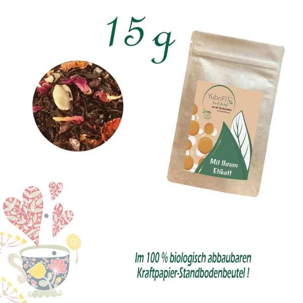 BIO Schwarzer Tee Schoko-Mandel