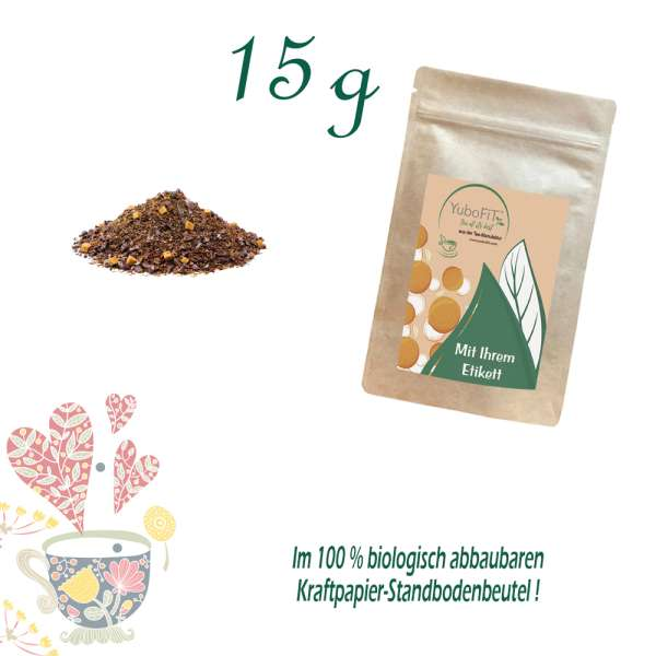Kräutertee Schoko-Junkie mit Stevia