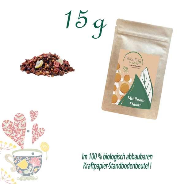 Birne-Goji-Himbeere Tee