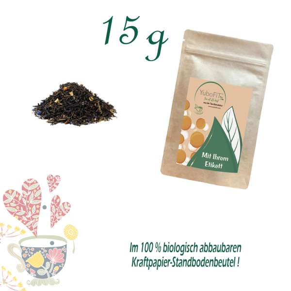 Schwarzer Tee Golden Rush