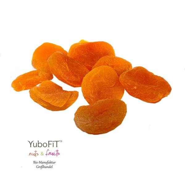 Aprikosen getrocknet und geschwefelt