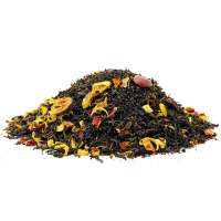 Schwarzer Tee Kurkumas Tag