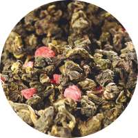 China Oolong Himbeere Tee