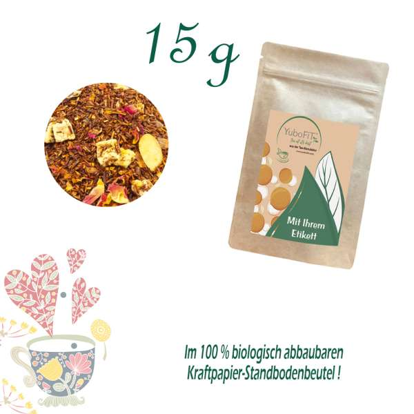 Rotbuschtee Bratapfel-Tee