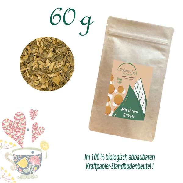 Berry Ginger Matcha Bio Tee