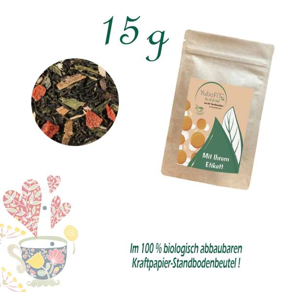 Erdbeer-Vanille Tee