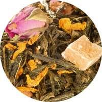 Sencha Granatapfel-Himbeere Tee