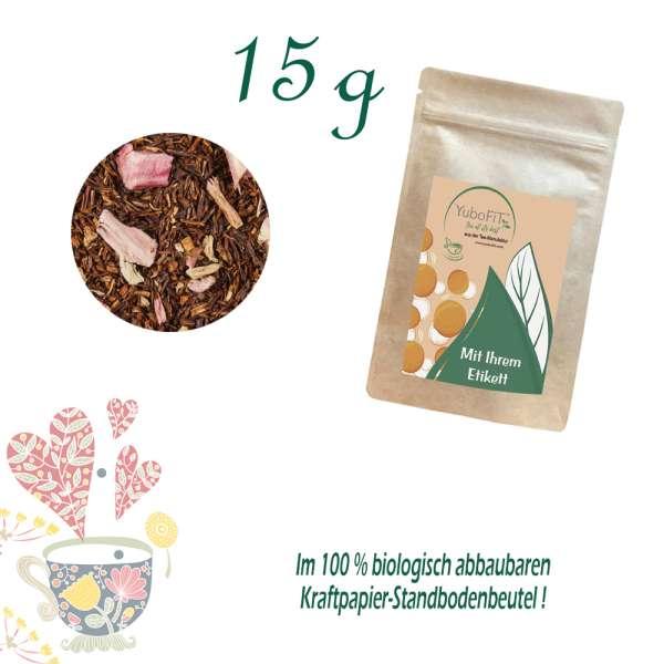 Rhabarber-Sahne Tee