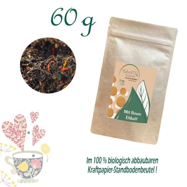 Schwarzer Tee Blutorange