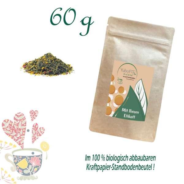 BIO Grüner Tee Himbeersommer Rosmarin