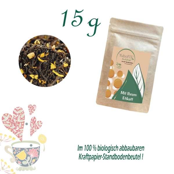 Schwarzer Tee Mango Indico
