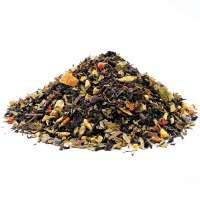 Schwarzer Tee Choc Chai Minze