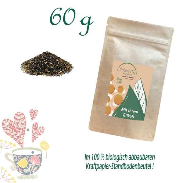 Schwarzer Tee Zitrusfrüchte