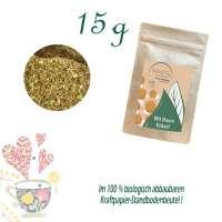 Standbodenbeutel Mini, Kraftpapier, Inhalt 15 g