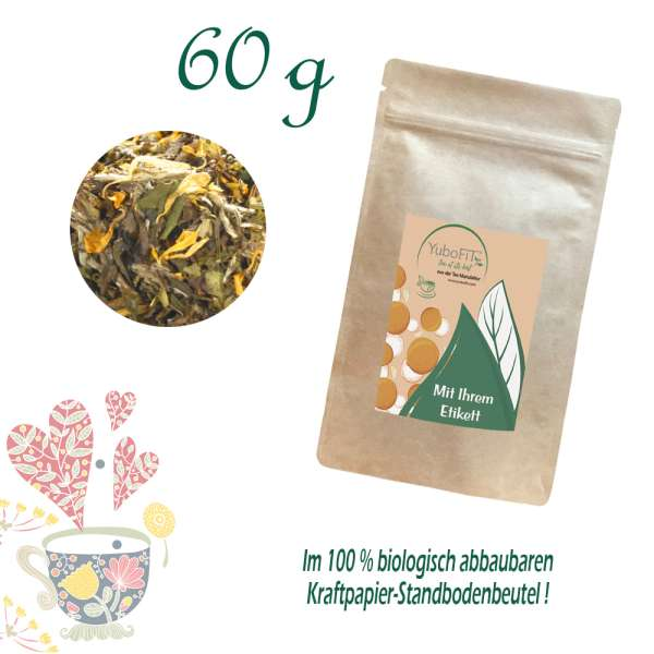 Weißer Tee Holunderblüte