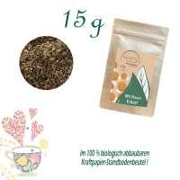 Standbodenbeutel Extra Small, Kraftpapier, Inhalt 15 g