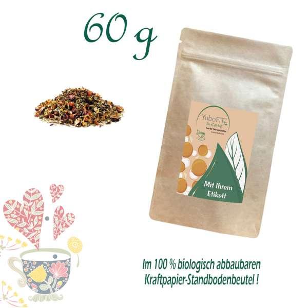 BIO Früchtetee Cremiger Erdbeertraum mit Stevia