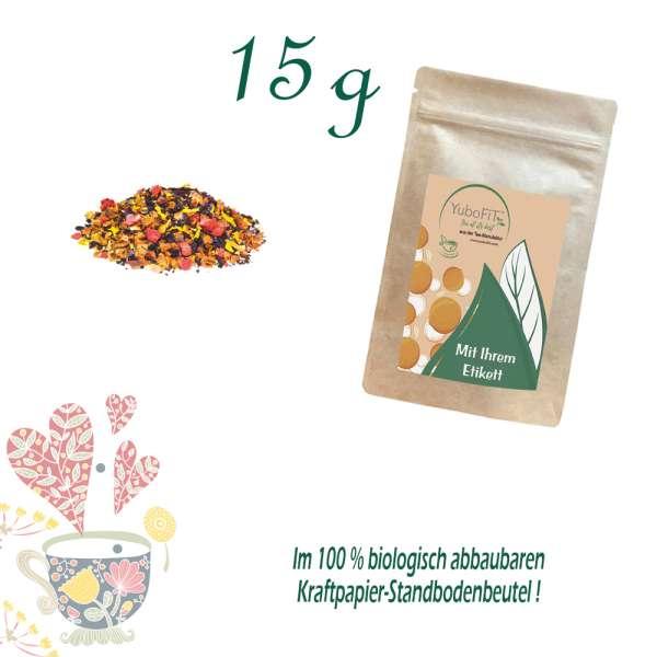 Früchtetee Aronia-Holunderblüte