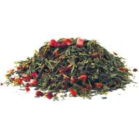 Grüner Tee Kurkuma Kirschblütenmädchen