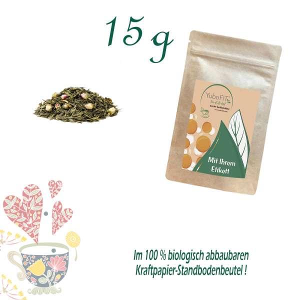 Sencha Rosengarten Harmonie Tee
