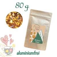 Standbodenbeutel Medium Plus, Kraftpapier, aluminiumfrei, Inhalt 80 g