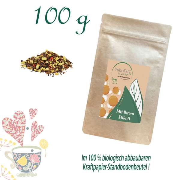 Schwarzer Tee Spiced Chai
