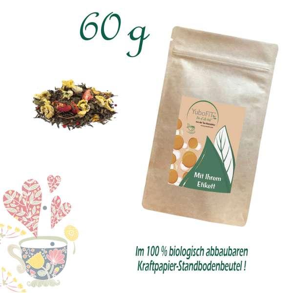 Grüner Tee Prickelnde Erdbeere