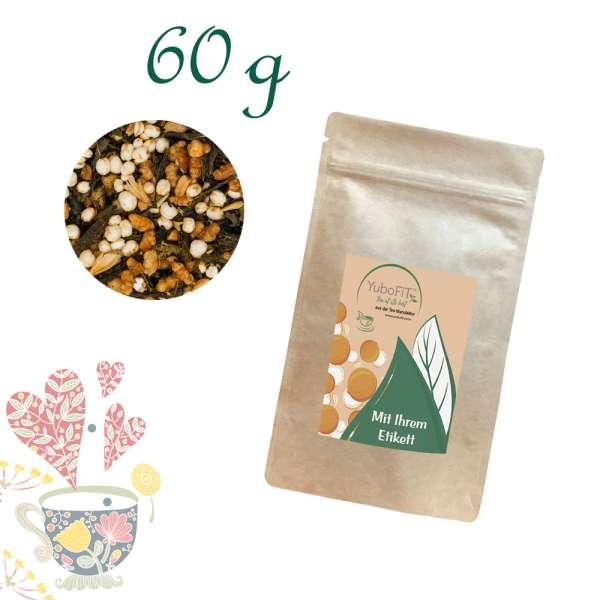 Genmaicha Popcorn Caramel Tee