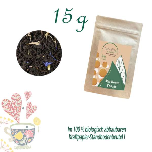 Earl Grey Blue Flower Tee