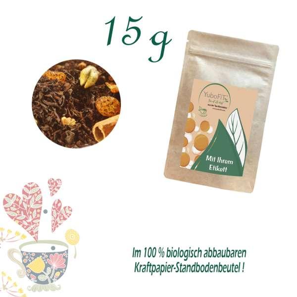 Schwarzer Tee Winterliche Mandarine