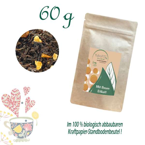Schwarzer Tee Adventstee