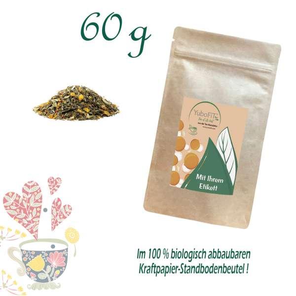 BIO Grüner Tee Frühlingstee Erdbeer-Thymian